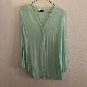 Old Navy Mint Tunic Top